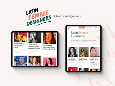Latin Female Designers