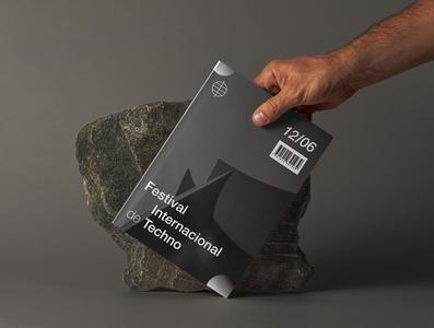 Festival Internacional branding illustration typography design
