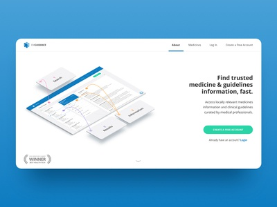 Medtech Landing Page