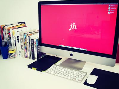 JH   My Desk