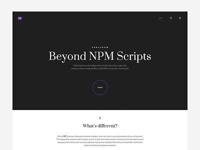 Crossbow desktop comp visual identity crossbow npm