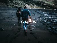 Grow Motion visual identity