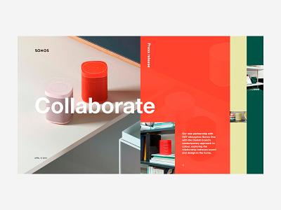 Sonos collaboration sound sonos press release press music homepage hay