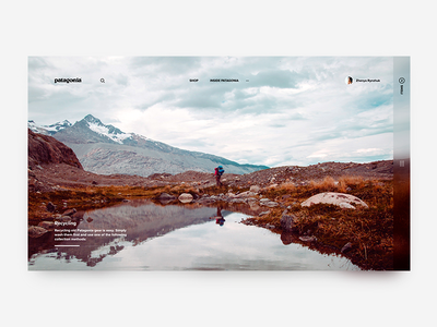 Patagonia home concept