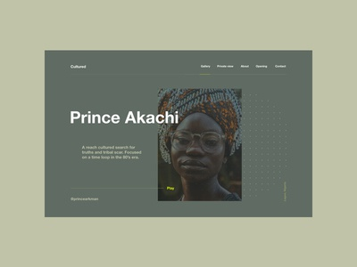 Prince Akachi Unsplash photographer concept (No. 008)