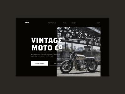 Vintage Moto Co. (No. 010)