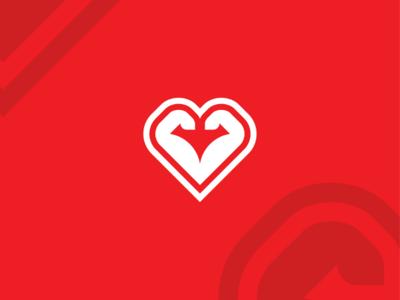 Love Gym Logo Concept | Logo For Sale
