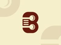 B Restaurant Initial Logo Concept