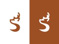 S + Deer Logo Concept