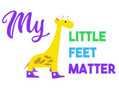 My Little Feet Matter Logo