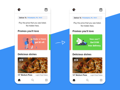 Food Delivery App Promotions