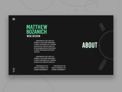 Portfolio Exploration flat branding minimal portfolio lettering figma web ux ui design