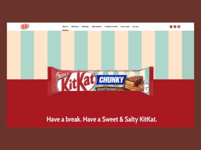 KitKat Landing Page