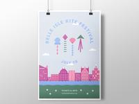 Belle Isle Kite Festival Poster