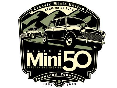 Classic Mini 50 Party in the Smokies classic mini vintage cars mini meet