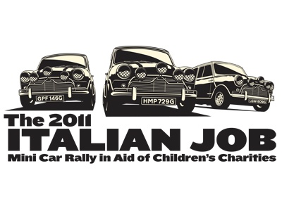 Italian Job Charity Shirt