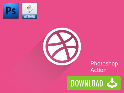 Free Long Shadow Photoshop Action action photoshop long shadow free shadow psd atn download