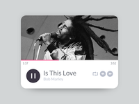 Is This Love Music Player