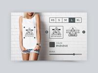 Tshirt Creator Widget