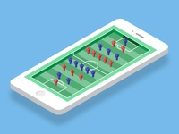 Isometric Soccer App