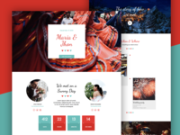 Spanish Wedding Landing Page