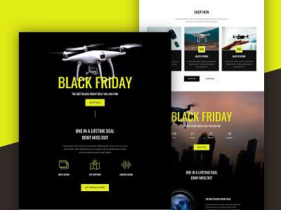 Black Friday Landing Page black friday