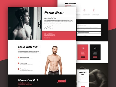 Personal Trainer Landing Page
