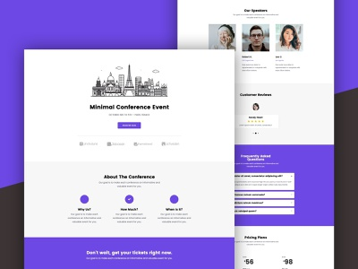 Conference Event Landing Page landing page conference conference event conference event landing page