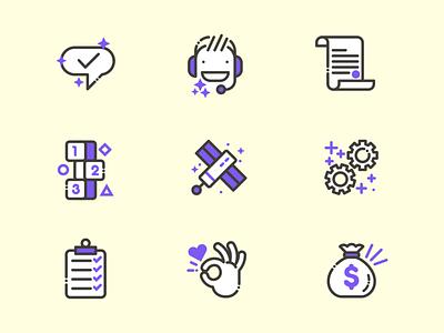 Communication Icons illustration icons
