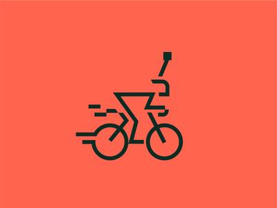 Unused Bicycle Logo bikers racing logo racing bicycle mountain biking bike logo for sale