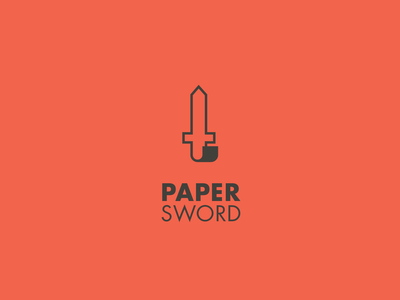 Paper Sword logo 2 paper sword logo