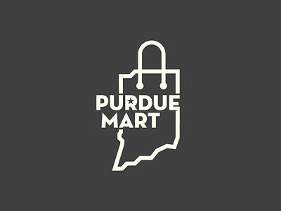 Purdue Mart Logo market indiana logo