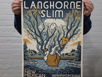 Langhorne Slim Concert Poster