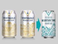 My New Belgium Vertigold Concept which became Mountain Time
