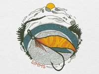 Concept Design Work for Simms Fishing: Fly Orb