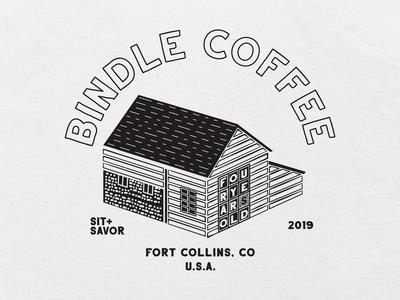 Bindle Coffee 4 Year Anniversary Tee