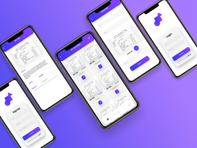 Bill Payment Approval App design minimal illustration app approval payment app bill