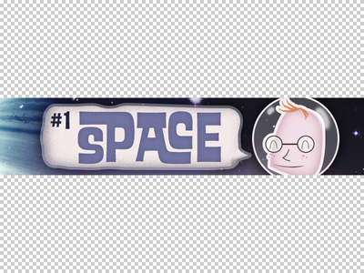 Trivia Nerd Banner Crop trivia nerd illustration typography space ed interlock redhead freckles glasses grain retro