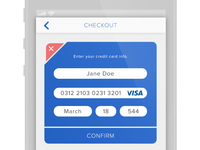 UI 4 - Credit Card Payment