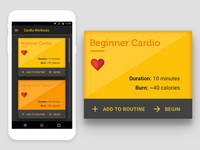UI 8 - Fitness Card