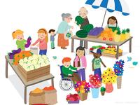 FINAL: Market scene