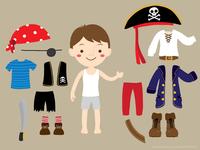 WIP - Pirate boy dress up