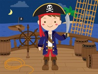 Pirate boy dress up