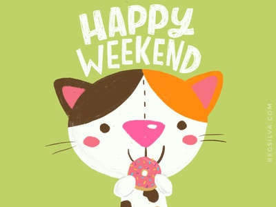 Happy Weekend Donut