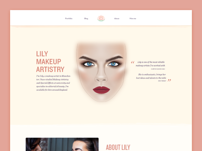 Lily Makeup Artistry introduction about testimonials portfolio
