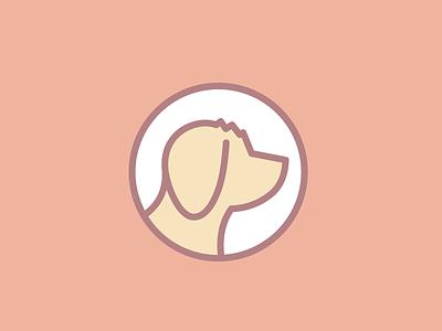 Logo silhouette dog