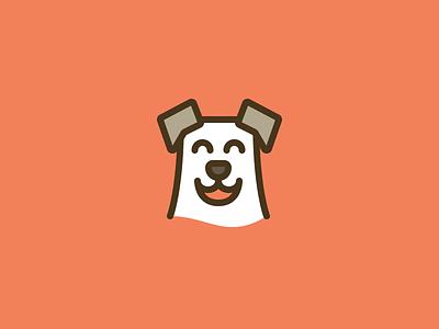 Doggo #3 outline line logo dog
