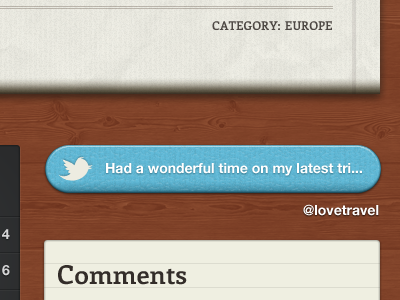 Twitter feed twitter blue texture helvetica