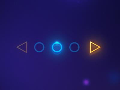 Light Pagination pagination user interface interface circles shapes pixel kings ramiro galan galan game interface games ramiro