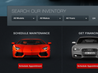 Website Design - Car Dealership